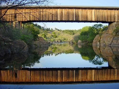 Knight's Ferry Bridge, Stanislaus County, California