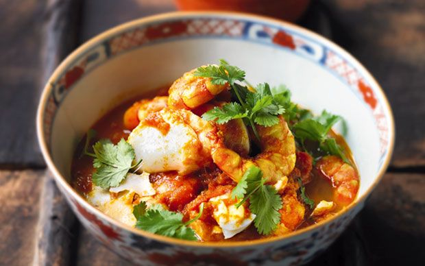A fragrant tomato fish curry from Burmese pro-democracy leader Aung San Suu Kyi.