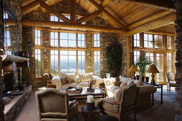 Decor Log Cabin Style
