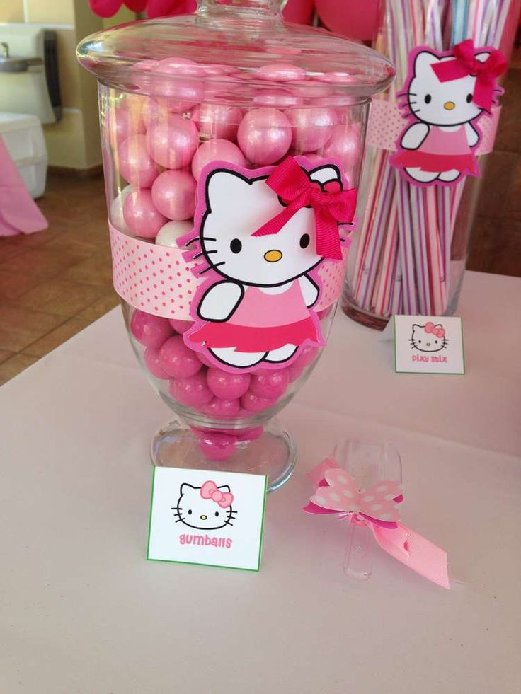 Hello Kitty Birthday Party Ideas | Photo 20 of 20 | Catch My Party
