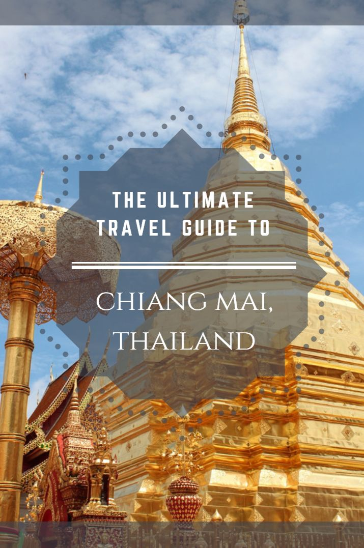 The food is amazing, the markets big and colourful and the surrounding boasts with incredible nature. Come to the northern Thai city of Chiang Mai for a few days, immerse yourself in the city, food and speak to locals and just fall in love with this place! #ChiangMai #Thailand #TravelGuide #ChiangMaiTravelGuide