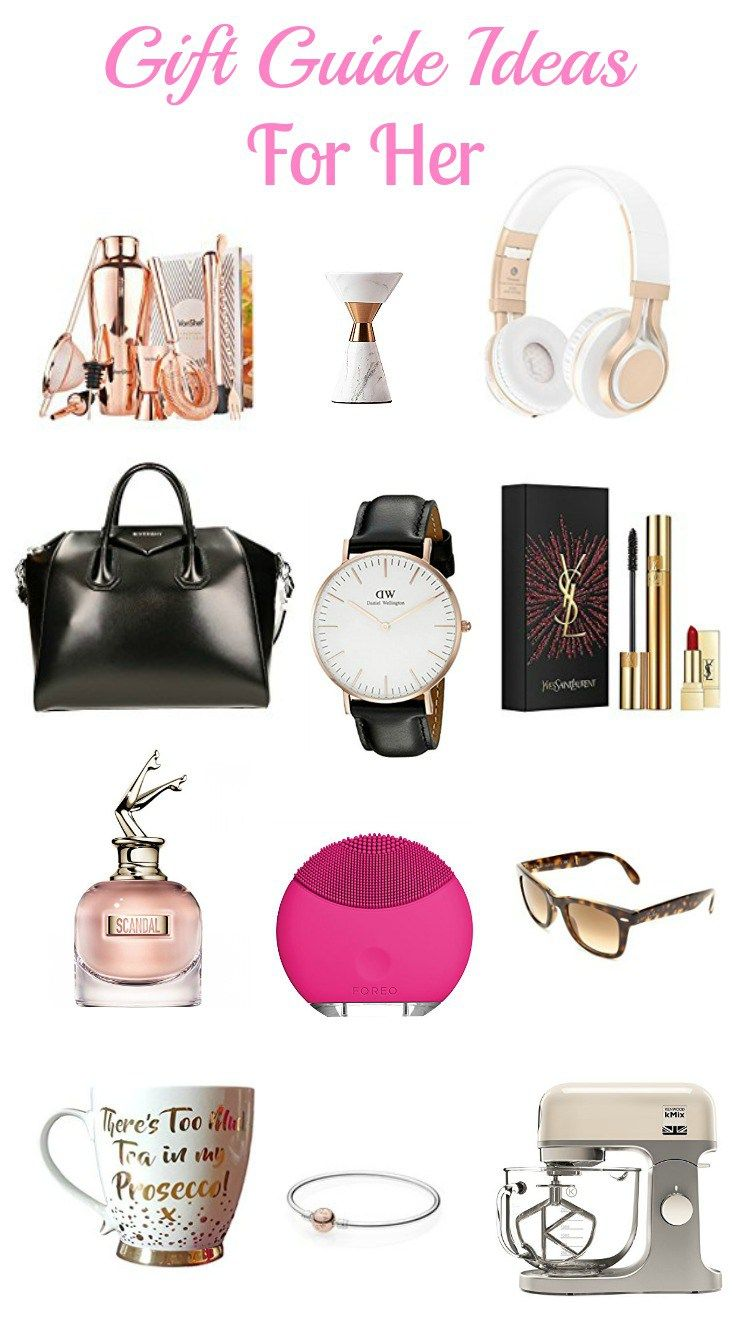 GIFT GUIDE IDEAS FOR HER | Gift Ideas | Pinterest | Gifts, Gift ...