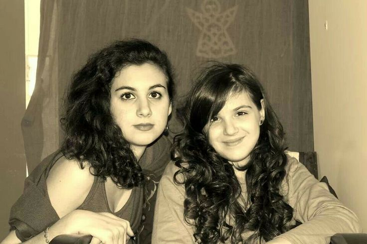 My sister and me.