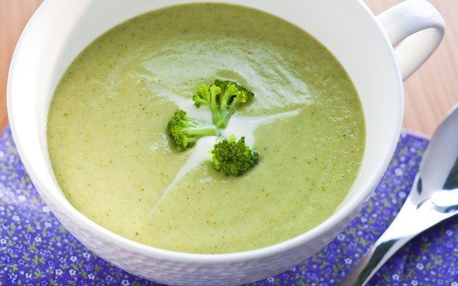 Receita de Sopa creme de brócolis - iG