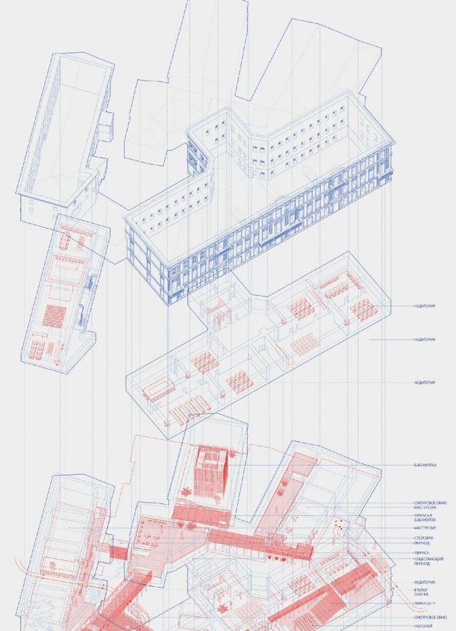 best grid images architecture graphics and  Москва Интервалы Лаборатория образования Дипломный проект Алины Назмеевой Планы Дипломный руководитель