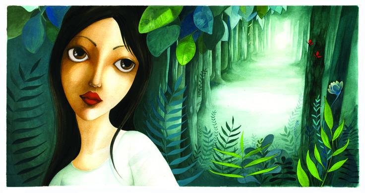 """illustrazione """" il Principe pesce"""" by Michela Molinari"""