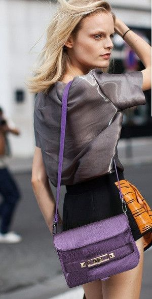 BAG: http://www.glamzelle.com/collections/whats-glam-new-arrivals/products/ps11-pyhton-shoulder-bag-brown-purple