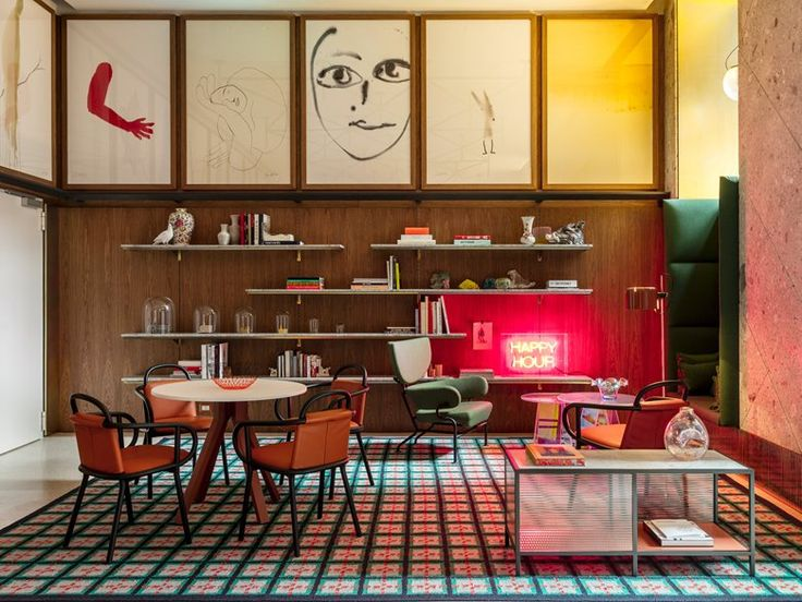 """""""Working with Room Mate is wonderful, they have given me complete freedom as they are not afraid to make a difference. Room Mate Giulia combines the essence of Milan; it's new, fresh, fun and welcoming. The hotel reflects the city..."""