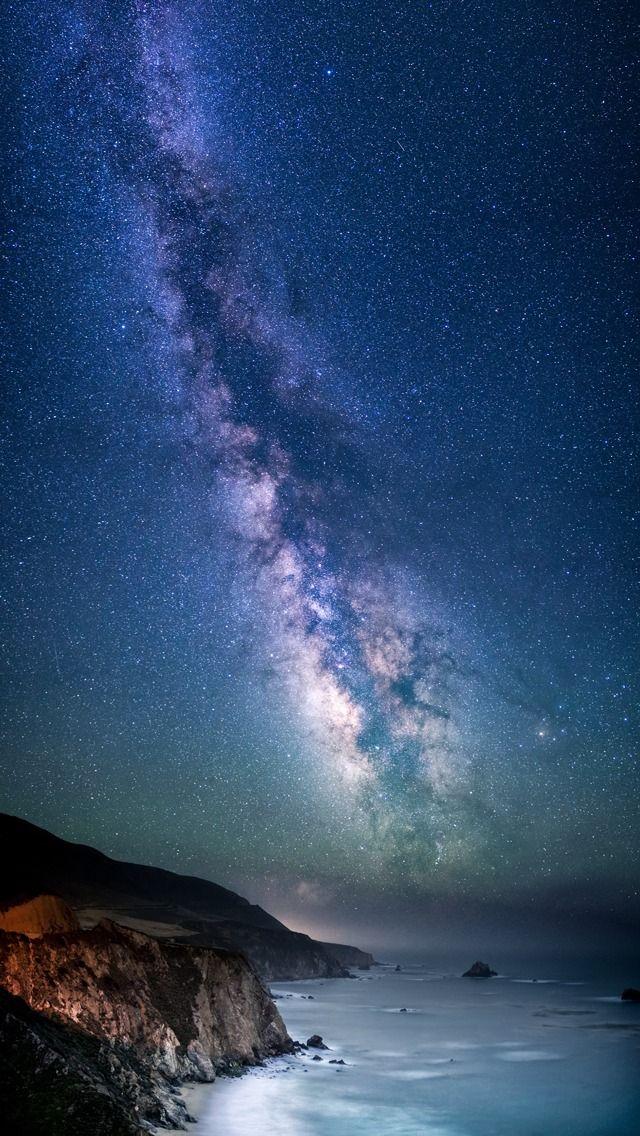 Milky Way Over Sea