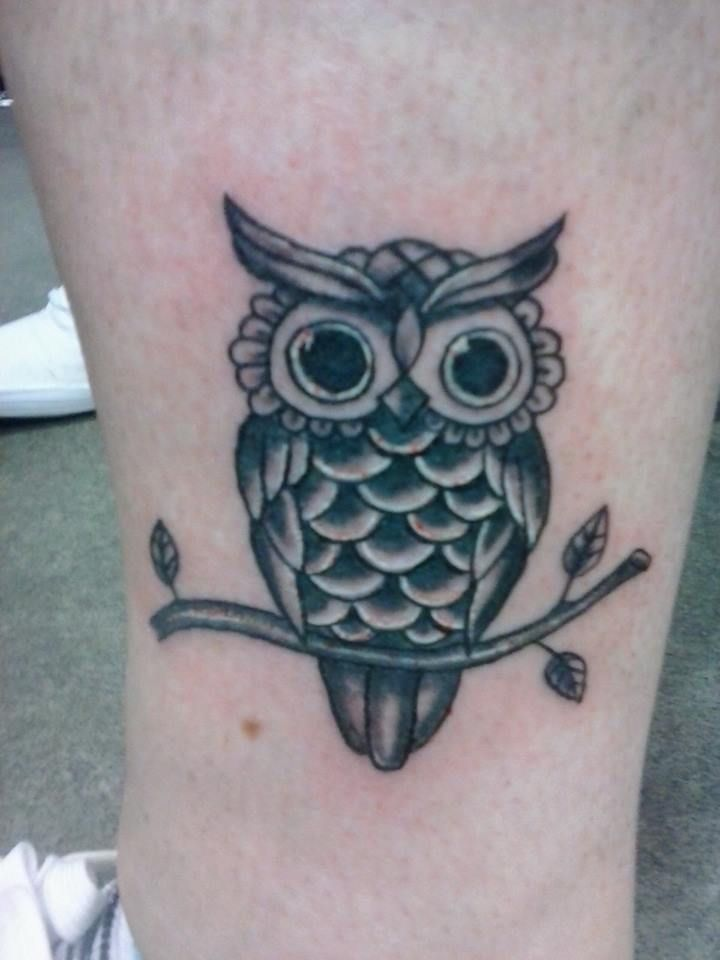 owl tattoo small