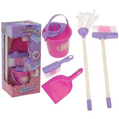 Kinder speelgoed schoonmaakset