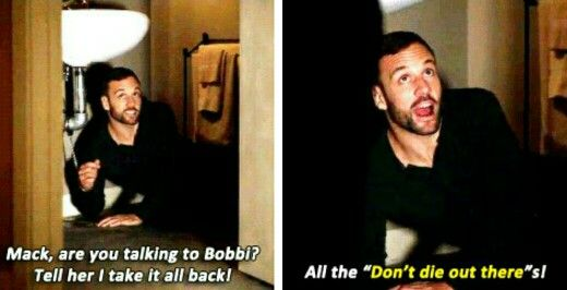MY FAVORITE LINE OF THE WHILE EPISODE! Lance hunter tumblr AoS <--- Oh my gosh!! I didn't hear that part! <3!!!