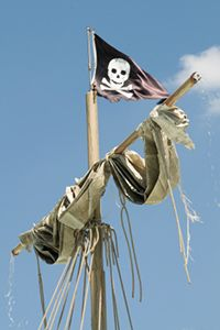 Famous Pirate Ship Jolly Rodger