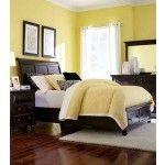 Broyhill Furniture - Farnsworth Queen Storage Sleigh Bed in Inky Black Stain - 4856-Q-Storage  SPECIAL PRICE: $949.00