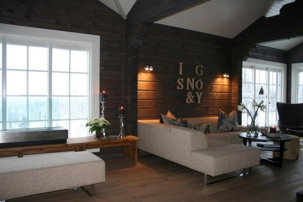 Interieur foto´s van houten huizen en logwoningen, wooninspiratie - RPM Houtbouw Nederland