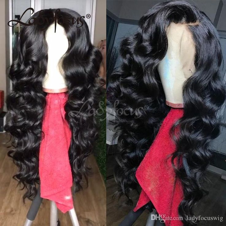 Loose Wave Full Lace Wigs For Black Women With Baby Hair Human Hair Wigs Bleached Knots Lace Front Long Wigs