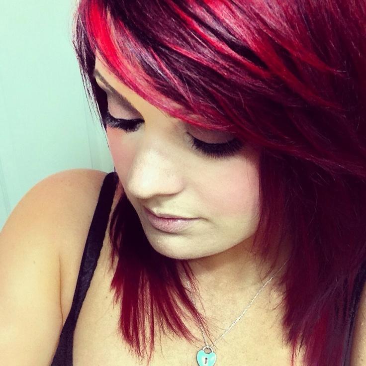 Love This Color Combo Pravana Vivids Red Color