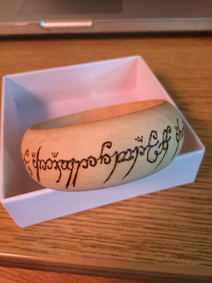 Map For Lord Of The Rings%0A Wood burned lord of the rings bracelet  oneringtorulethemall