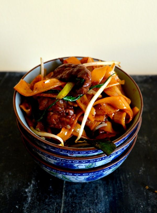 beef chow fun  recipe  chow fun noodles fun noodles