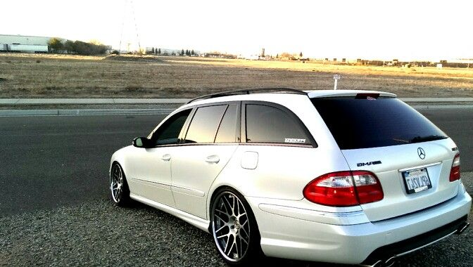 E55 E63 Mercedes Wagon Mercedes Benz W211 Pinterest