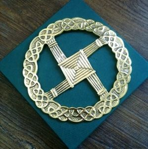 St. Brigid Cross Wreath