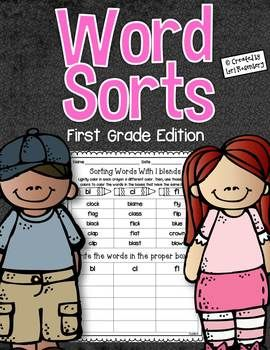 Word Sorts {First Grade Edition}