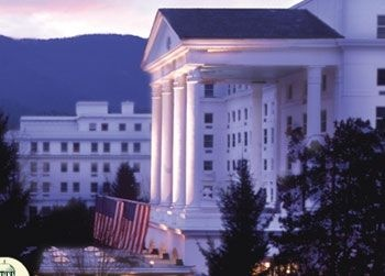 The Greenbriar Resort Wv Was Built In 1853 Greenbrier Is A Forbes
