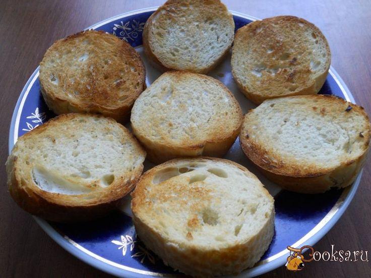Рецепт багета с сыром и чесноком