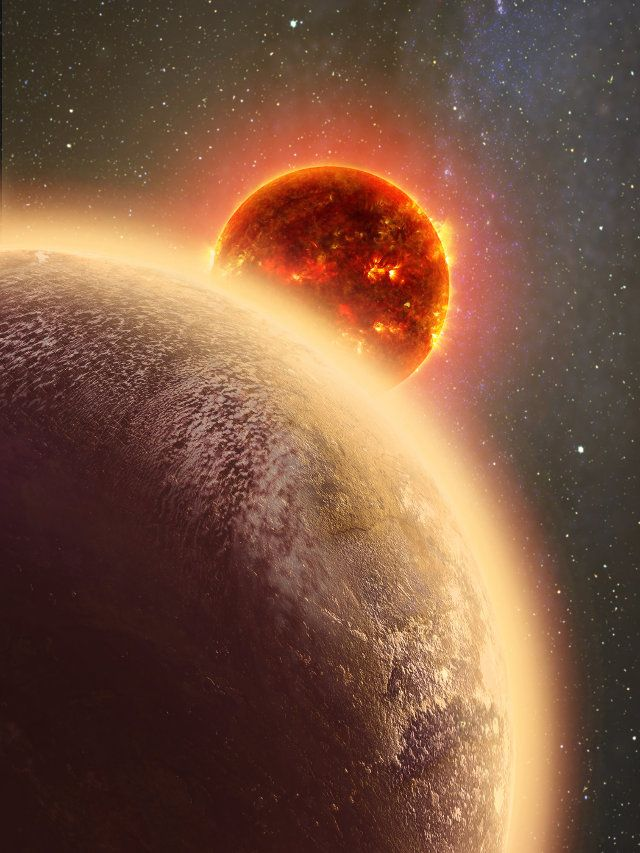 "An article accepted for publication in ""The Astrophysical Journal"" describes a research on the exoplanet GJ 1132b, taken as an example of a rocky planet orbiting close to a red dwarf star. A team of astronomers led by Laura Schaefer of the Harvard-Smithsonian Center for Astrophysics (CfA) used computer models to simulate the evolution of that type of planet's atmosphere concluding that could be thin and contain oxygen. Read the details in the article!"