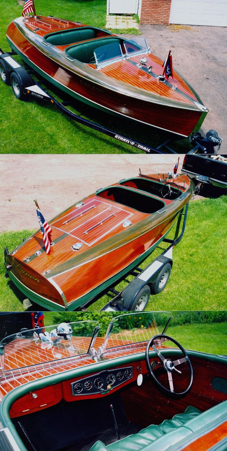 19' Chris Craft Barrel Back for sale. Mine if I win the Power Ball tomorrow!