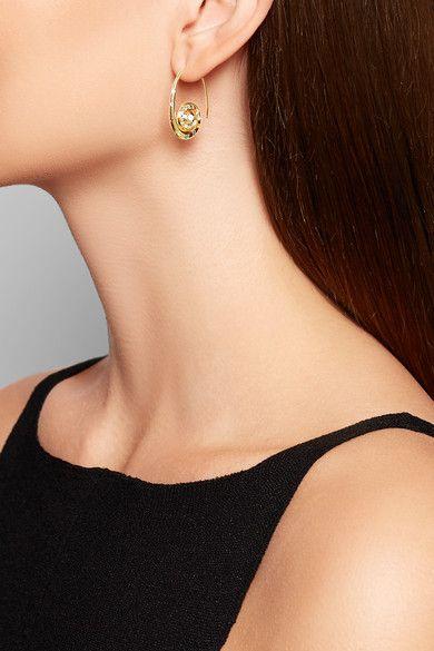 Venyx - Pharaonys 18-karat Gold Multi-stone Earrings - one size