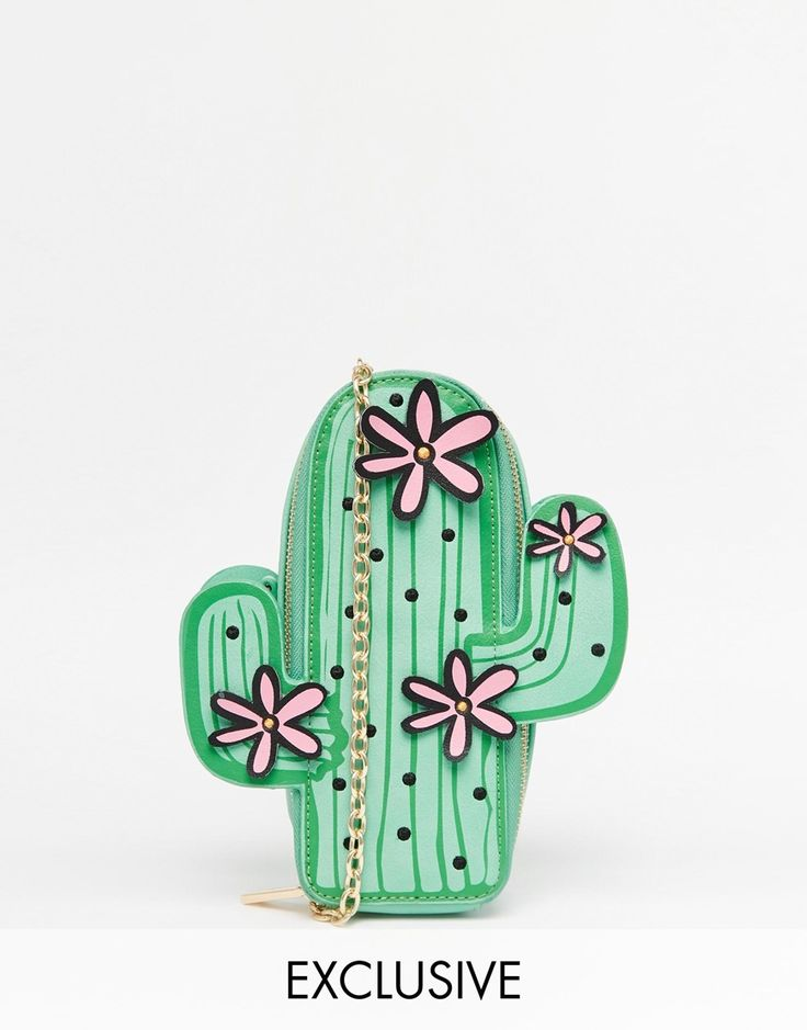 Skinnydip Exclusive Cactus Cross Body Bag perfect for summer