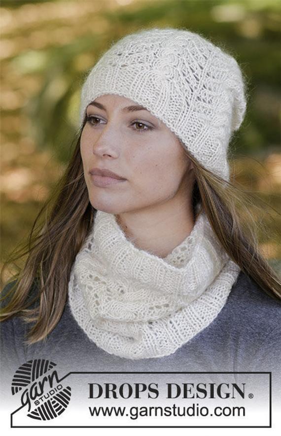 Baby Merino Women/'s knit cap made of 100/% Merino wool by Drops