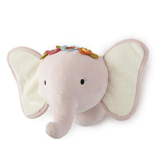 "Levtex Baby Pink Elephant Head Wall Decor - Levtex Baby  - Babies""R""Us"