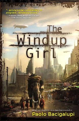 The Windup Girl   Paolo Bacigalupi. To be honest, I only got 50 pages in. I didn't like the style of writing and the characters failed to compel me. The plot may have gotten interesting but I was having trouble getting into it.