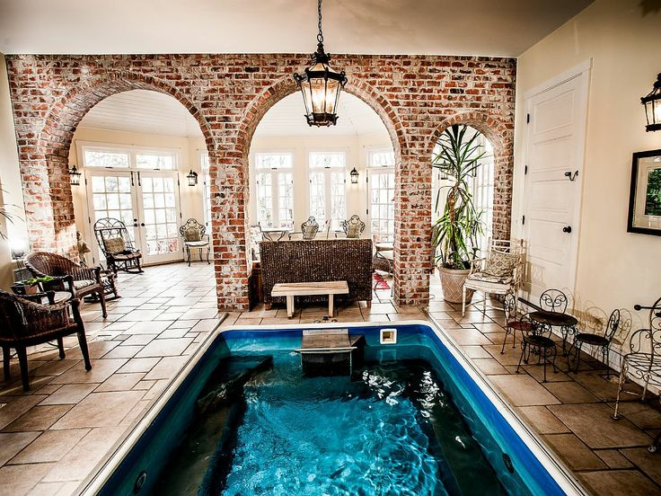 a beautiful endless pool conservatory. Interior Design Ideas. Home Design Ideas