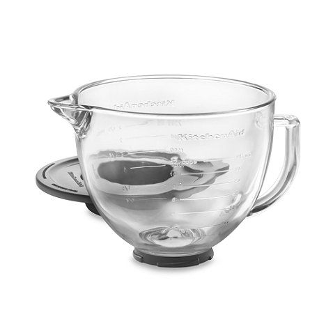 Buy KitchenAid® Glass Bowl for 5-Quart Artisan and Tilt-Head Stand Mixers from Bed Bath & Beyond