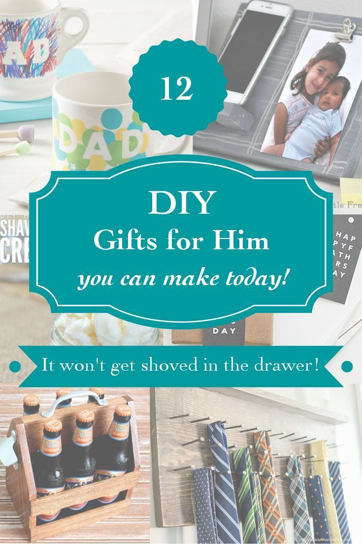 25 best ideas about diy gifts for him on pinterest for Diy gift projects