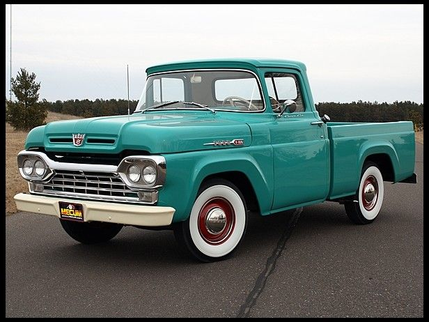 '60 Ford...old trucks are totally cool.
