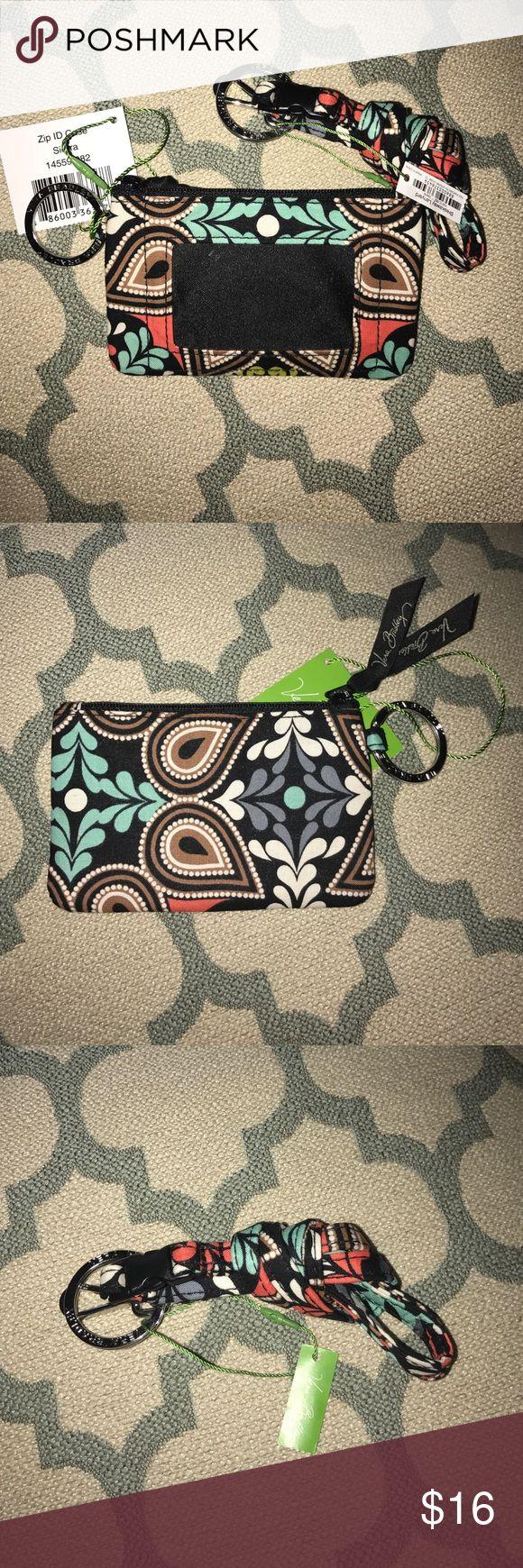 BNWT Vera Bradley Zip ID and Lanyard in Sierra BNWT Vera Bradley Zip ID and Lanyard in Sierra Vera Bradley Bags Wallets