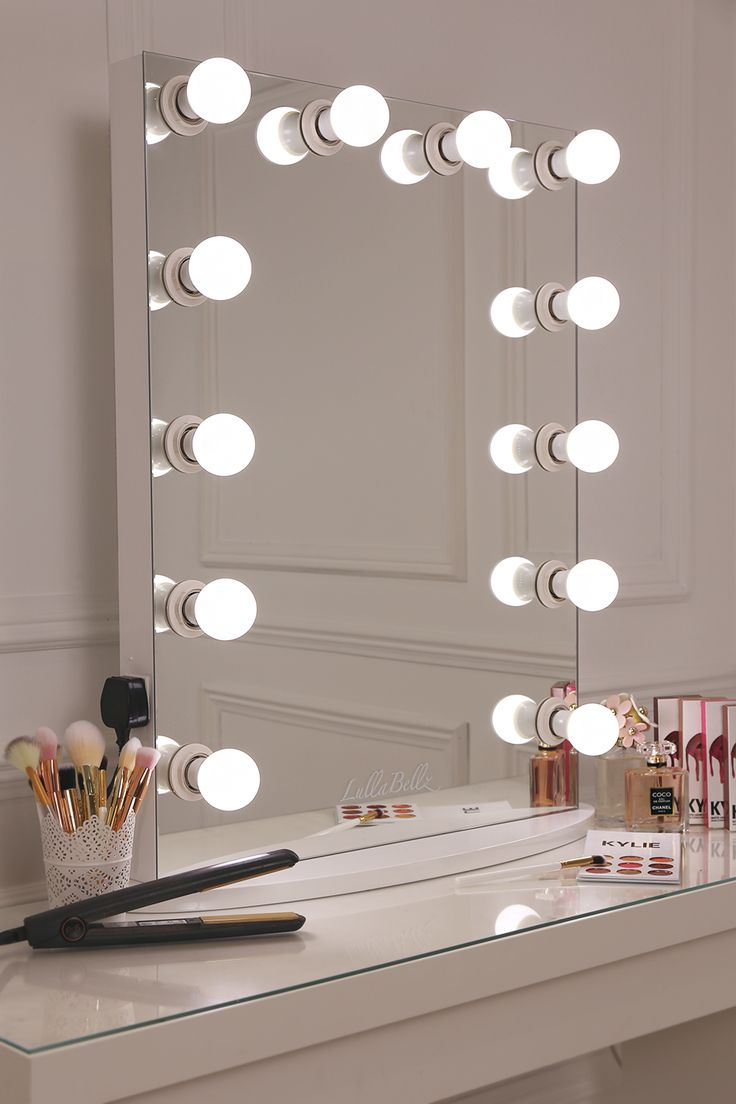 17 best ideas about mirror with light bulbs on pinterest for Vanity mirror light bulbs