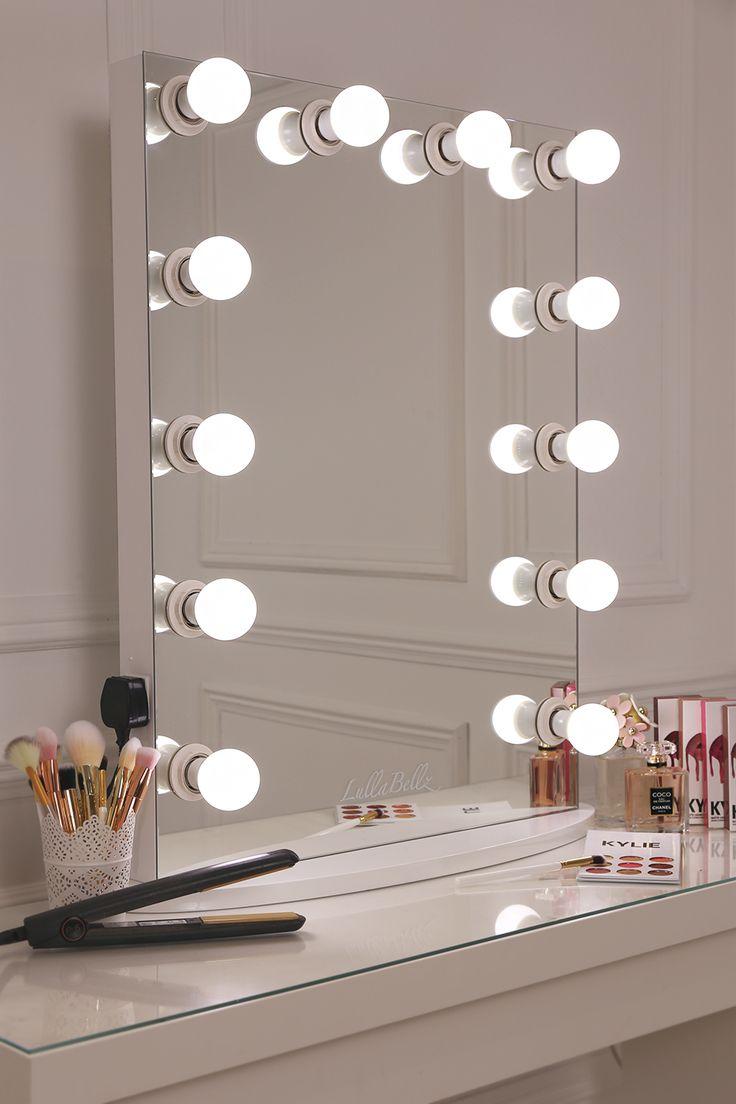 17 best ideas about mirror with light bulbs on pinterest for Vanity mirror light bulbs