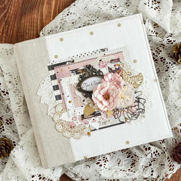 Mon joli bricolage..: Семейный альбом из бумаги Prima