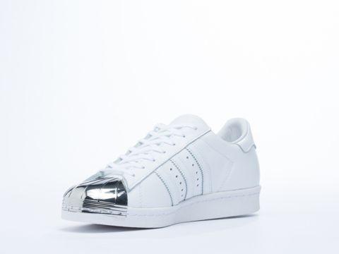 adidas superstar white metal toe