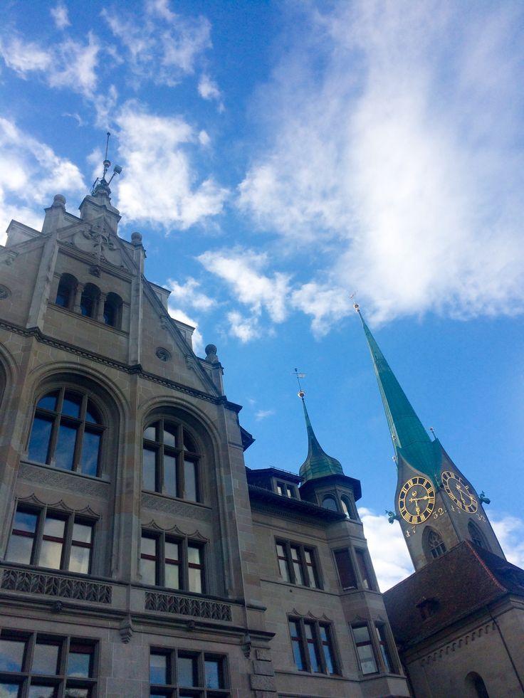Fraumuenster Church, Zurich, Switzerland
