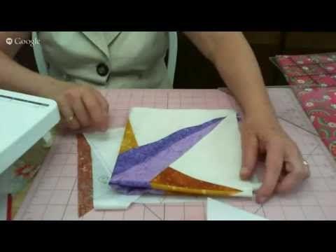 Patchwork Ao Vivo #24: bloco Rosa dos Ventos (Mariner's Compass) - YouTube