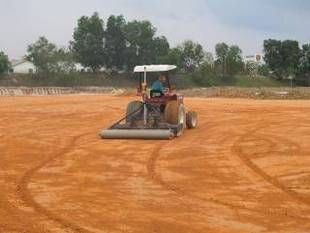 Production of full construction specifications and drawings, review of tender companies and selection of contractor on behalf of client, full project management of cricket ground, machinery and inventory recommendations.
