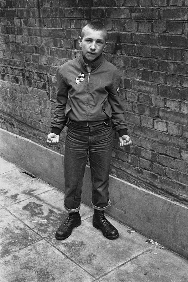 Derek Ridgers - London's skinheads 05