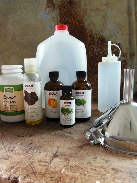 This all #natural #DIY conditioner is cheap and easy to make and can be customized to your hair needs with essential oils! #beauty