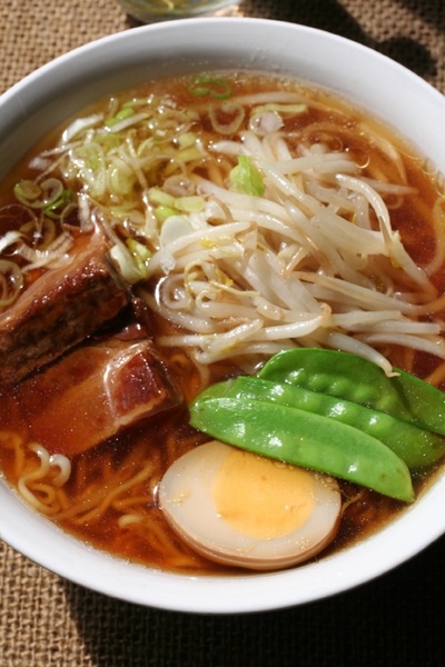 Photo: Homemade Maruchan Ramen Noodles|ラーメン